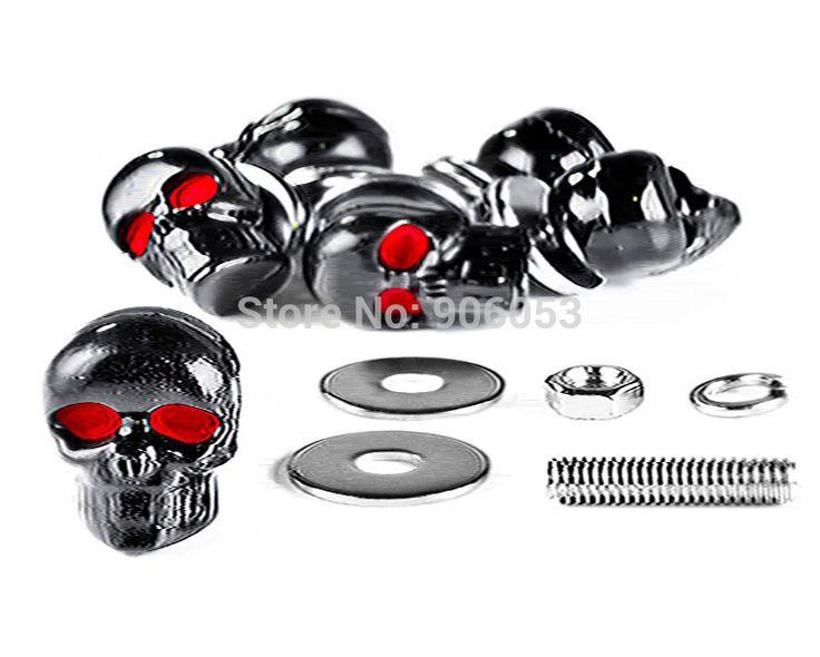 Skeleton Skull Bolts For Kawasaki Mach 500 750 KH S3 Trial Boss