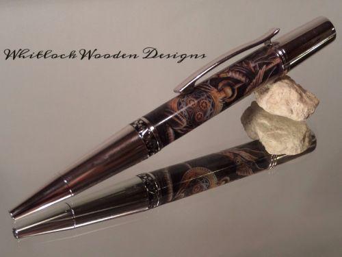 Handmade Wooden Pen Pencil Set Curly Maple Pen Turner