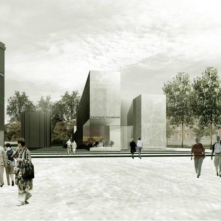 gallery of new bauhaus museum architekten hrk 6. Black Bedroom Furniture Sets. Home Design Ideas