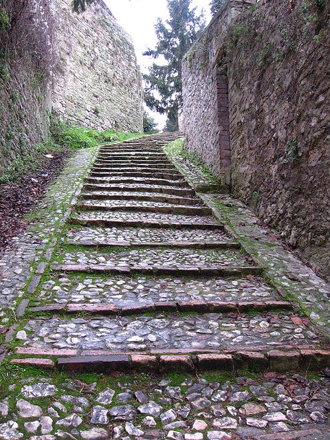 Ancient steps, Spoleto