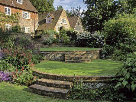Gardens On A Slope http://www.garden-design.me/gardens-on-a-slope/