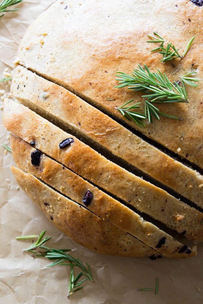 Rosemary & Olive Bread