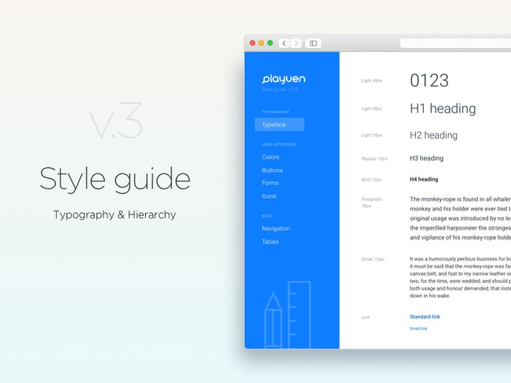 Style guide v.3.0