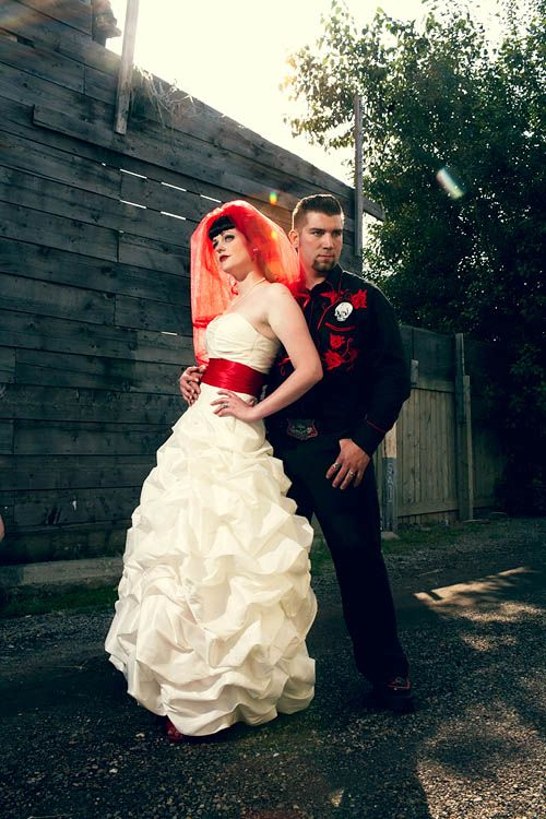Rockabilly Wedding | Punk, Rockabilly, Neo Gothic, Country U0026 Western Wedding