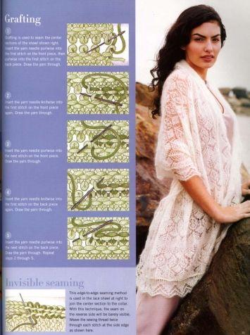 Необычные шали спицами. / Вязание спицами / Вязание для женщин спицами. Схемы