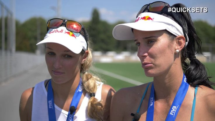 Quicksets: Anouk Vergé-Dépré / Joana Heidrich  Smart advice from Swiss pro beach volleyball players on the FIVB Beach Volleyball World Tour​....Quicksets: Anouk Vergé-Dépré / Joana Heidrich