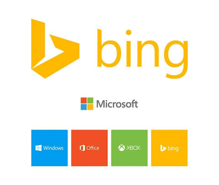 Bing has a new logo that makes it more apparent who the search engine's owner is.
