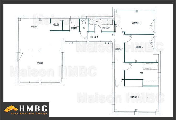 Constructeur de maison contemporaine de 104m2 elysa for Maison moderne hmbc