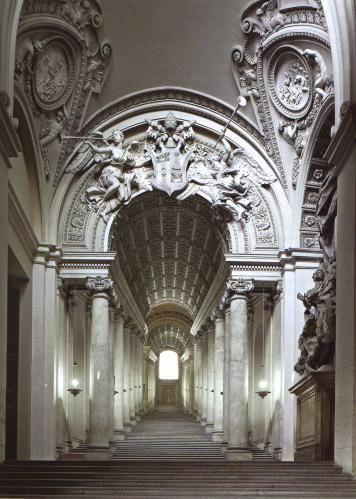 Scala regia 1663-1666, Palazzo Apostolico Città del Vaticano