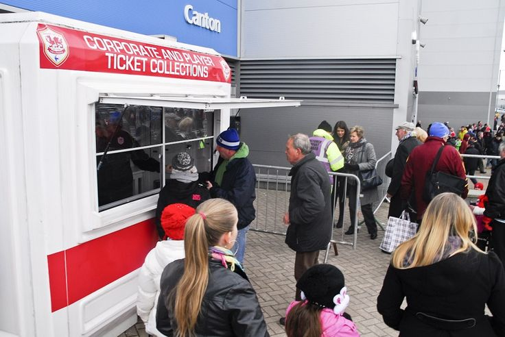 Ticket Retail Unit at Cardiff City FC