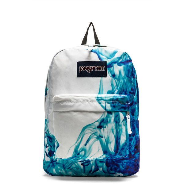 Jansport Superbreak Backpack ❤ liked on Polyvore featuring bags, backpacks, purses, accessories, mochilas, blue bag, jansport daypack, backpack bag, jansport backpack and knapsack bags