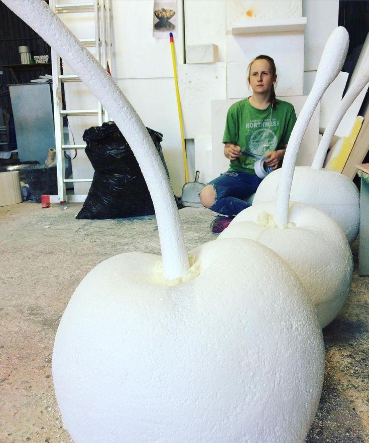 Сад-огород в #diartstudio #фигурыизпенопласта #скульптураизпенопласта #3dфигуры #рекламнаяскульптура #бутафорияназаказ #бутафория #fiberglass #fiberglassfigure