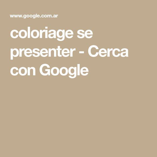 coloriage se presenter - Cerca con Google