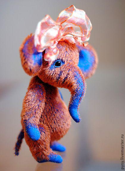 Мишки Тедди ручной работы: слоник Флорентина. Handmade.