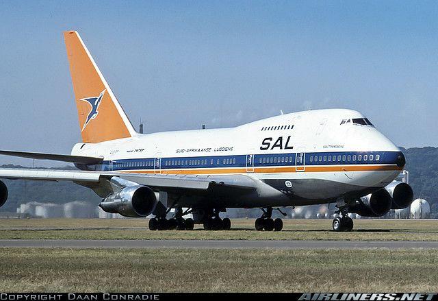 South African Airways  Boeing 747SP-44