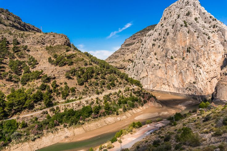 El Chorro, Spain. Hiking route El Caminito del Rey #Travel #Hiking #Backpack #Spain #ElCaminitodelRey #Andalusia #OurTraveLife