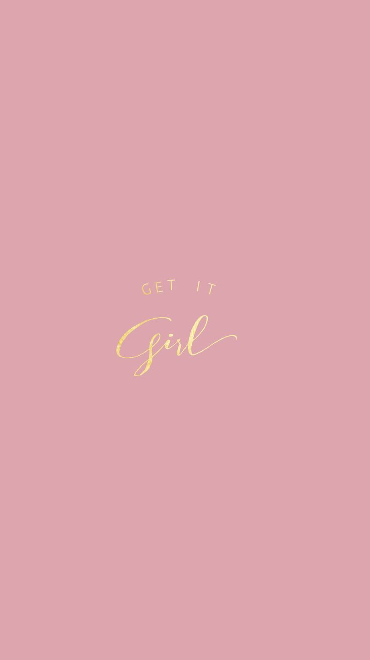 Rose Gold|Pretty Positivity™ iPhone Wallpaper @EvaLand