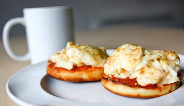 Bradley, you may like this! breakfast pizza and 59 other toaster oven meals since my kitchen is limited