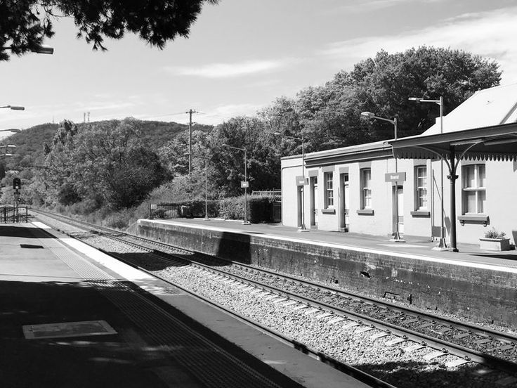 Bowral train station, a great transport option if you want to leave the car behind