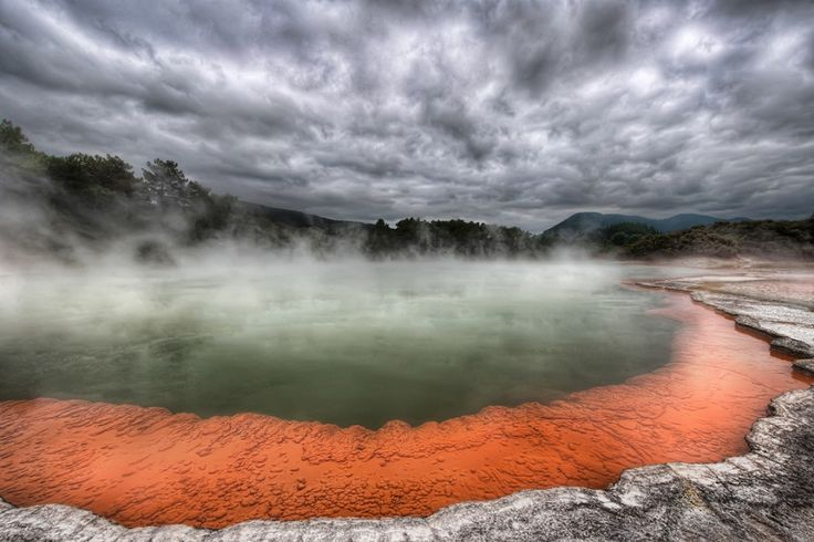 Waiotapu Champagne Pool - New Zealand