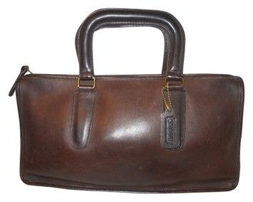 Coach Vintage New York City Small Brief Case Brown Bag - Satchel.