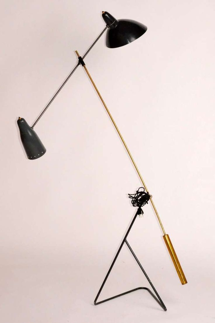French Mid Century Floor Lamp