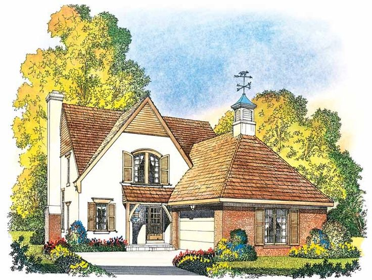 eplans french country house plan quaint french country cottage 2305 square