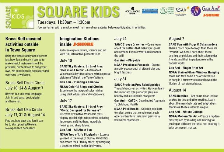 Square Kids Activities