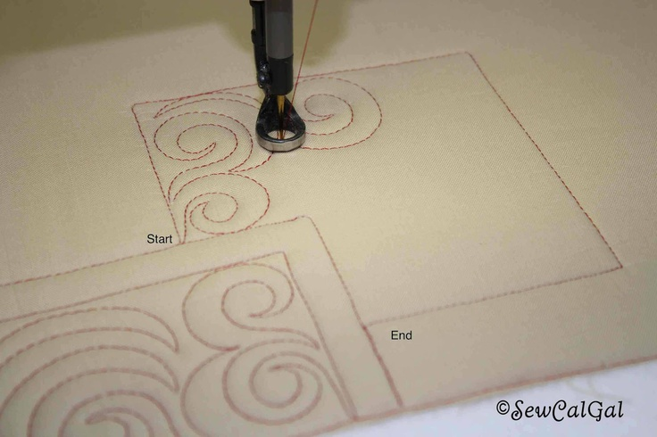 Free-Motion Quilting Tutorial by Angela Walters