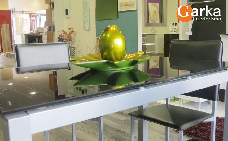 Centro de mesa dorado! Elegancia y distinción a la mesa :-)
