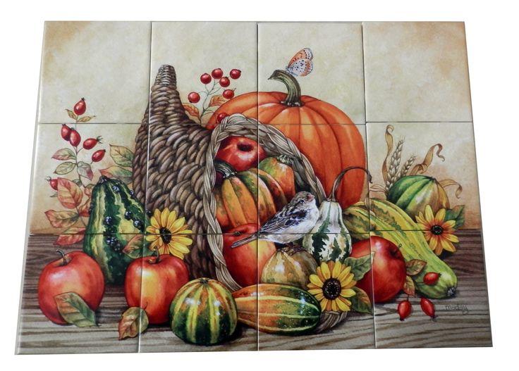 Kitchen Tiles Fruits Vegetables 38 best wines, fruit & vegetable tile murals images on pinterest