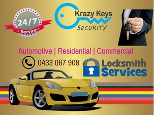 Krazy Keys are now offering automotive locksmith services in Perth. Go through the complete post and know more about Krazy Keys and our locksmith services.