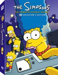 Simpsons season 7 DVD