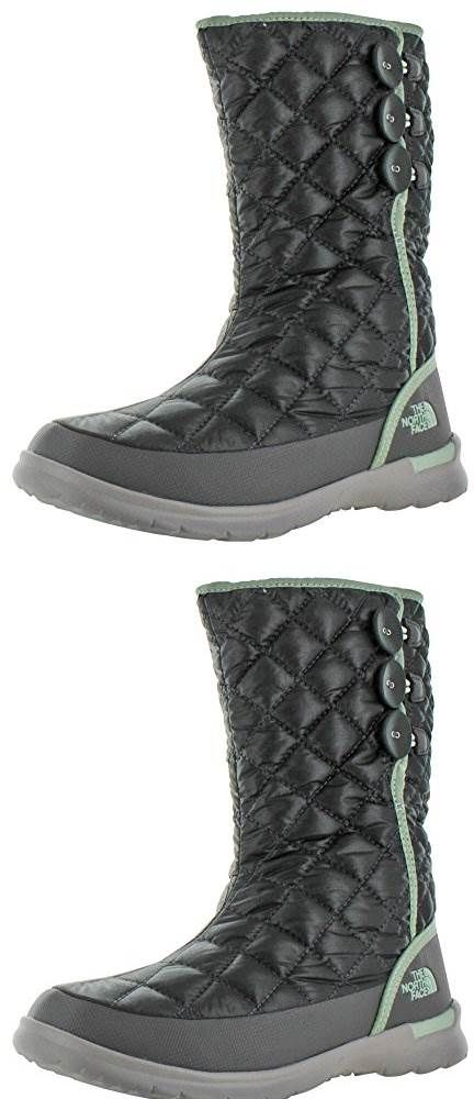 The North Face Thermoball Button - These boots are amazing. I was in -20 degrees spending a lot of time outdoors. I wear a 6.5 so, I was able to wear 2 pairs of socks (including a wool pair) These are warm, light and are easy to clean. They are easy to put on. In extreme weather these kept me from getting frost bite when others were getting cold around me. #TheNorthFace