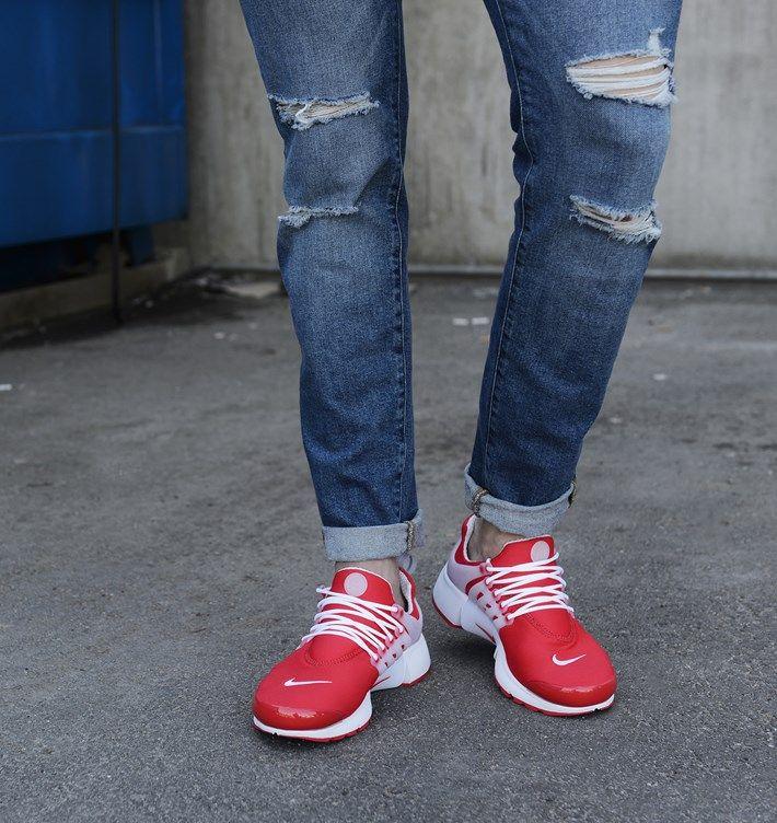 Comet Presto On Nike Feet Air Red lcFK1J