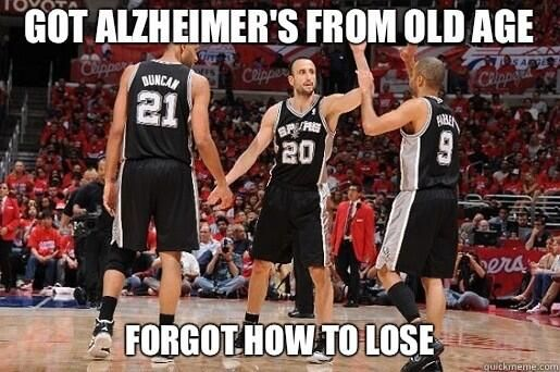 2014 NBA Playoffs Memes | ... Spurs sweep Memphis Grizzlies, now the memes sweep the internet