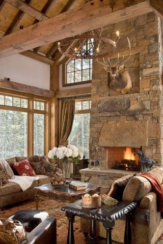 Fake Deer Head Decor Living Room