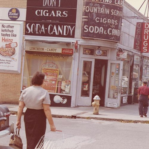 King Of New York Scene: 6540 Best Images About #1-kodachrome & Vintage Color On