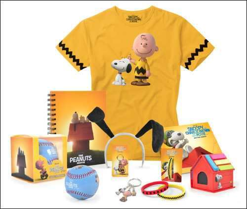 #Win a #Snoopy and Charlie Brown: The #Peanuts Movie merchandise pack @PeanutsMovie @Snoopy #competition