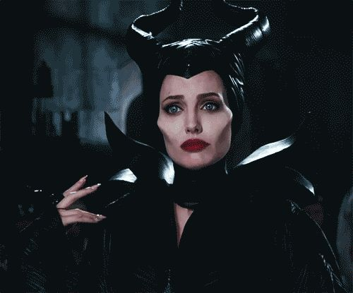 Angelina Jolie had a HUGE role in developing Maleficent's on-screen look for the live-action movie. Her horns were made by artisans who specialize in fetishware. | 16 Fascinating Things You Didn't Know About Maleficent