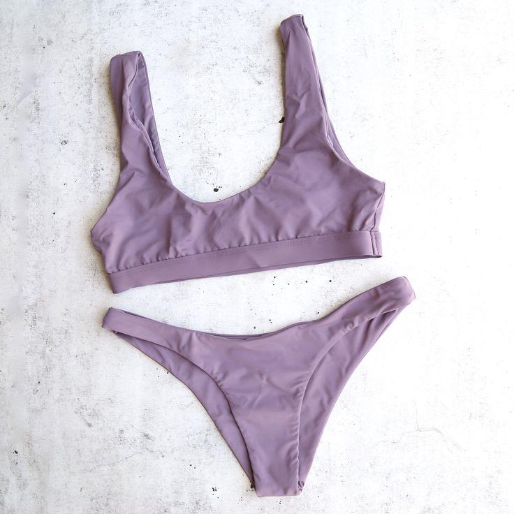 kylie x alexis - bikini separates - more colors - S / TOP / PURPLE