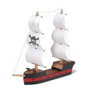 Pirates of the Caribbean Black Pearl Ship Model