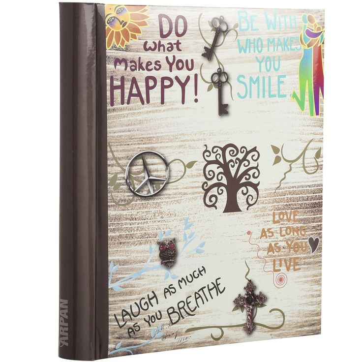 Arpan Large Self-Adhesive Magnetic Page Photo Albums - Life inspirational slogans Photo Album x 1 * Check out this great product. (This is an affiliate link and I receive a commission for the sales)