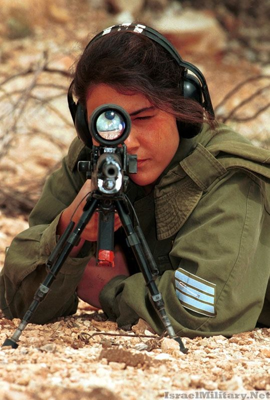 """""""Israeli military girls"""" is the original title of this picture.  Nope:  how about Israeli soldier who happens to be a woman!"""