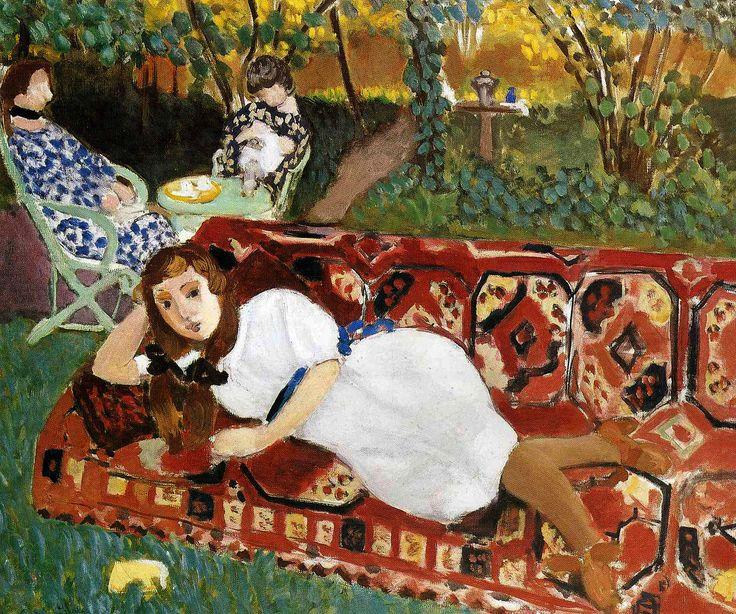 Анри Матисс «Молодые женщины в саду»