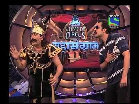 KRISHNA as Daya and SUDESH as ACP Pradyuman CID Special in Comedy circus 2013/14 - YouTube