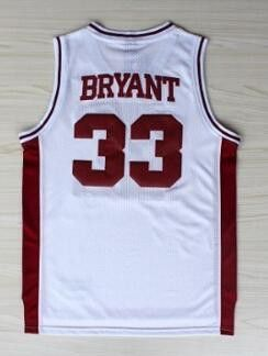 259f9b54e ... Top Quality Kobe Bryant Lower Merion High School Basketball Jersey 33  ...