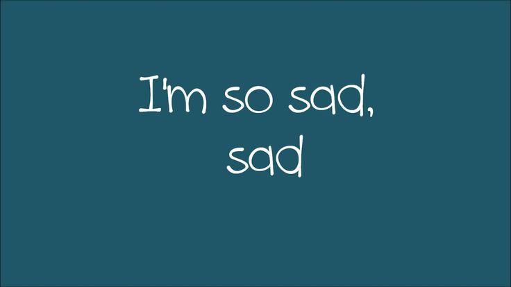 Maroon 5 - Sad Lyrics