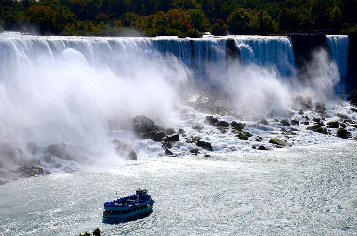 Maid of the Mist, Chutes du coté américain.
