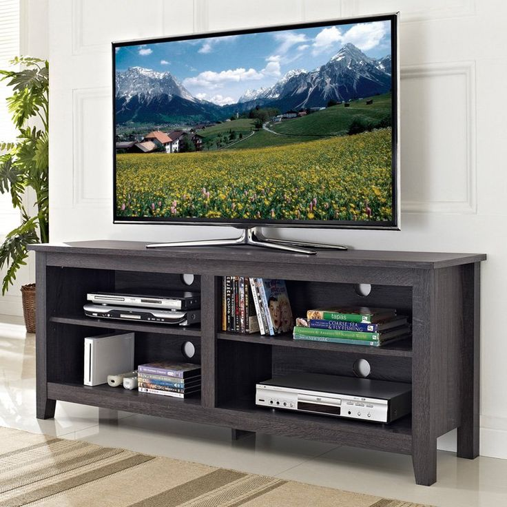 have to have it walker edison 58 in wood tv stand charcoal gray